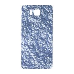 Crumpled Foil 17d Samsung Galaxy Alpha Hardshell Back Case