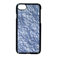 Crumpled Foil 17d Apple Iphone 7 Seamless Case (black)
