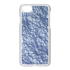 Crumpled Foil 17d Apple Iphone 7 Seamless Case (white)