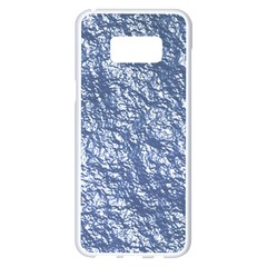 Crumpled Foil 17d Samsung Galaxy S8 Plus White Seamless Case