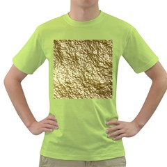 Crumpled Foil 17c Green T Shirt