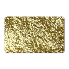 Crumpled Foil 17c Magnet (rectangular)