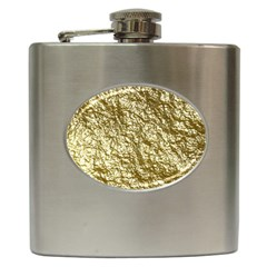 Crumpled Foil 17c Hip Flask (6 Oz)