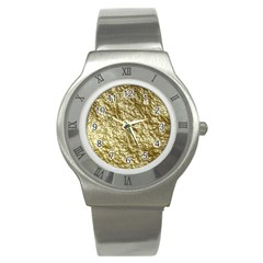Crumpled Foil 17c Stainless Steel Watch