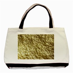 Crumpled Foil 17c Basic Tote Bag (two Sides)