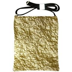 Crumpled Foil 17c Shoulder Sling Bags