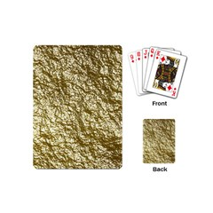 Crumpled Foil 17c Playing Cards (mini)