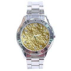 Crumpled Foil 17c Stainless Steel Analogue Watch