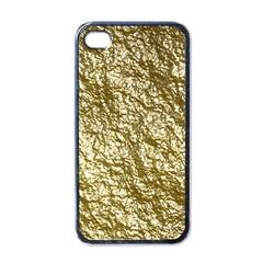 Crumpled Foil 17c Apple Iphone 4 Case (black)