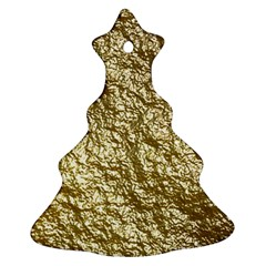 Crumpled Foil 17c Ornament (christmas Tree)