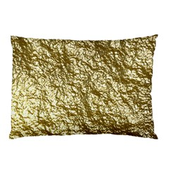 Crumpled Foil 17c Pillow Case (two Sides)