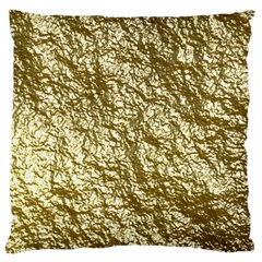 Crumpled Foil 17c Large Cushion Case (two Sides)