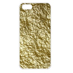 Crumpled Foil 17c Apple Iphone 5 Seamless Case (white)