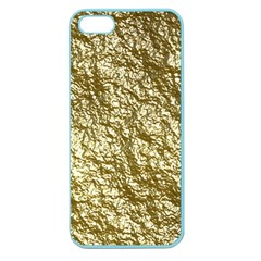 Crumpled Foil 17c Apple Seamless Iphone 5 Case (color)