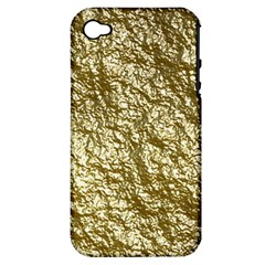 Crumpled Foil 17c Apple Iphone 4/4s Hardshell Case (pc+silicone)