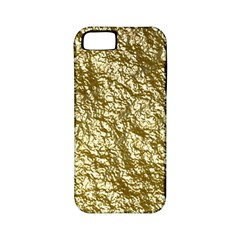 Crumpled Foil 17c Apple Iphone 5 Classic Hardshell Case (pc+silicone)