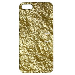 Crumpled Foil 17c Apple Iphone 5 Hardshell Case With Stand