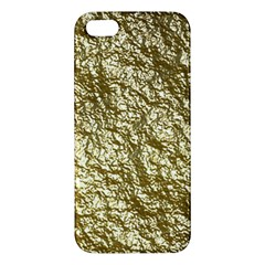 Crumpled Foil 17c Apple Iphone 5 Premium Hardshell Case