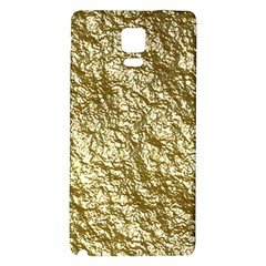 Crumpled Foil 17c Galaxy Note 4 Back Case