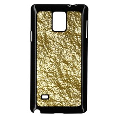Crumpled Foil 17c Samsung Galaxy Note 4 Case (black)