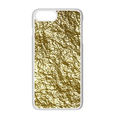 Crumpled Foil 17c Apple Iphone 7 Plus White Seamless Case