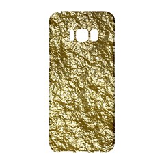Crumpled Foil 17c Samsung Galaxy S8 Hardshell Case