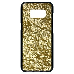 Crumpled Foil 17c Samsung Galaxy S8 Black Seamless Case