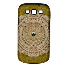 Golden Forest Silver Tree In Wood Mandala Samsung Galaxy S Iii Classic Hardshell Case (pc+silicone)