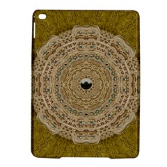 Golden Forest Silver Tree In Wood Mandala Ipad Air 2 Hardshell Cases