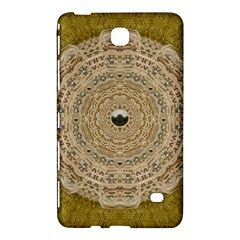 Golden Forest Silver Tree In Wood Mandala Samsung Galaxy Tab 4 (7 ) Hardshell Case