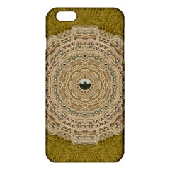 Golden Forest Silver Tree In Wood Mandala Iphone 6 Plus/6s Plus Tpu Case