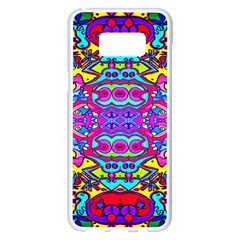 Donovan Samsung Galaxy S8 Plus White Seamless Case