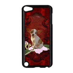 Sweet Little Chihuahua Apple Ipod Touch 5 Case (black)