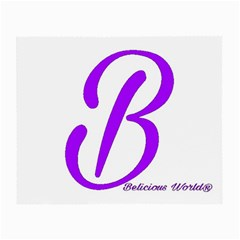 Belicious World  b  Purple Small Glasses Cloth
