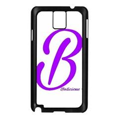 Belicious World  b  Purple Samsung Galaxy Note 3 N9005 Case (black)
