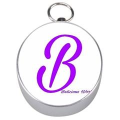 Belicious World  b  Purple Silver Compasses