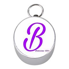 Belicious World  b  Purple Mini Silver Compasses