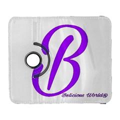 Belicious World  b  Blue Galaxy S3 (flip/folio)