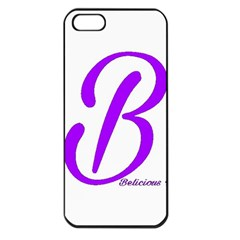 Belicious World  b  Coral Apple Iphone 5 Seamless Case (black)