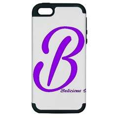 Belicious World  b  Coral Apple Iphone 5 Hardshell Case (pc+silicone)