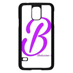 Belicious World  b  Coral Samsung Galaxy S5 Case (black)