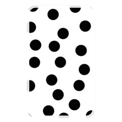 Black And White Dalmatian Spot Pattern Memory Card Reader
