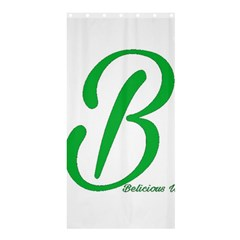 Belicious World  b  In Green Shower Curtain 36  X 72  (stall)