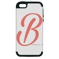 Belicious World  b  In Coral Apple Iphone 5 Hardshell Case (pc+silicone)