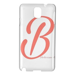 Belicious World  b  In Coral Samsung Galaxy Note 3 N9005 Hardshell Case