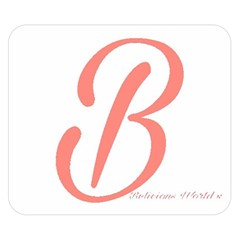 Belicious World  b  In Coral Double Sided Flano Blanket (small)