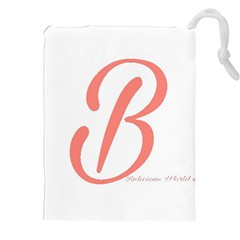 Belicious World  b  In Coral Drawstring Pouches (xxl)