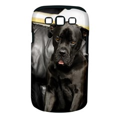 Dogue De Bordeaux Black Puppy Samsung Galaxy S Iii Classic Hardshell Case (pc+silicone)