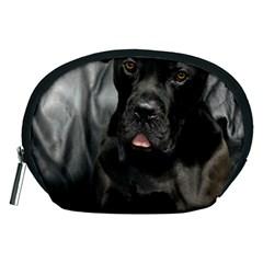 Dogue De Bordeaux Black Puppy Accessory Pouches (medium)