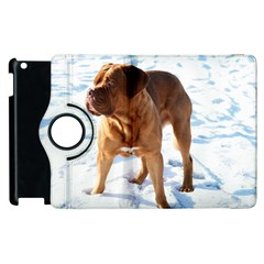 Dogue De Bordeaux In Snow Apple Ipad 2 Flip 360 Case